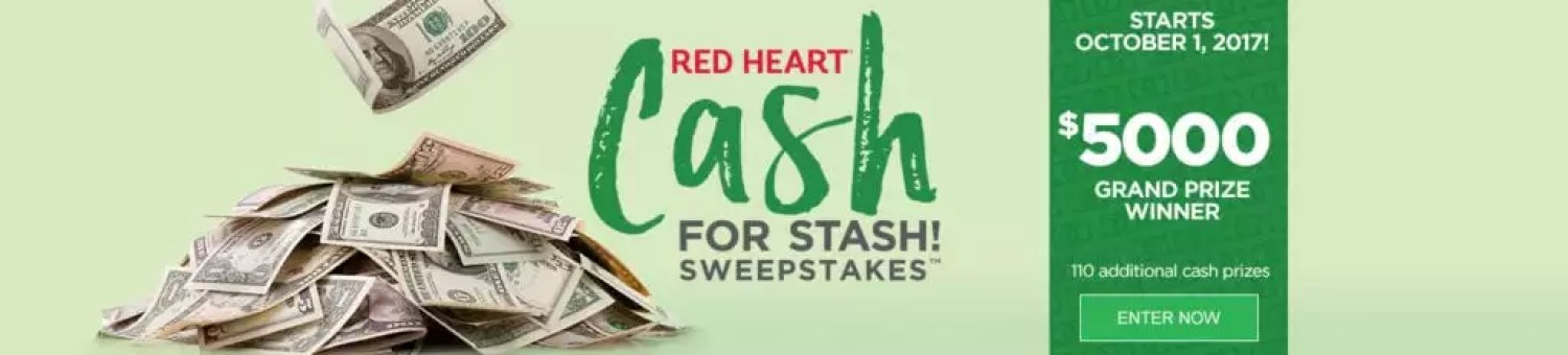 Red Heart Cash for Stash Giveaway