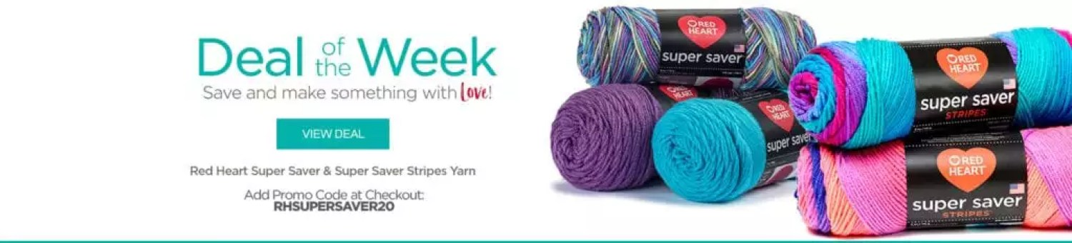 Red Heart Deal of the Week-Super Saver