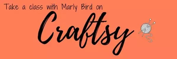 Take a Craftsy class with Marly Bird