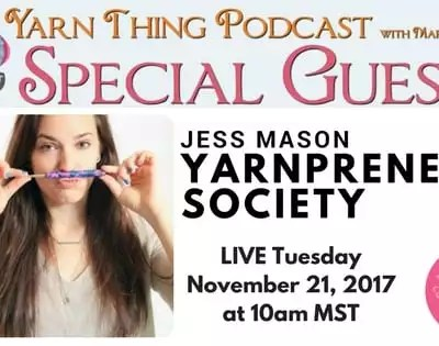 Are you a Yarnpreneur? Meet Jess Mason and find out.