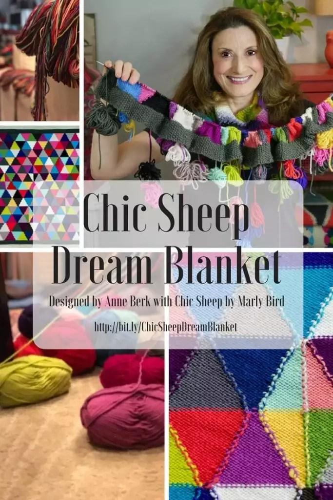 Chic Sheep Dream Blanket by Anne Berk