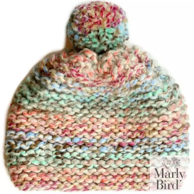 FREE Knit Chunky Hat Pattern for Beginners