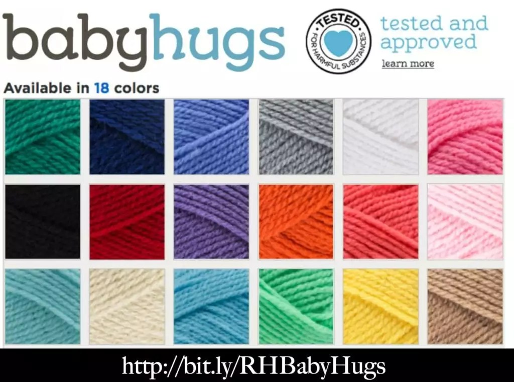 Red Heart Baby Hugs Color Choices