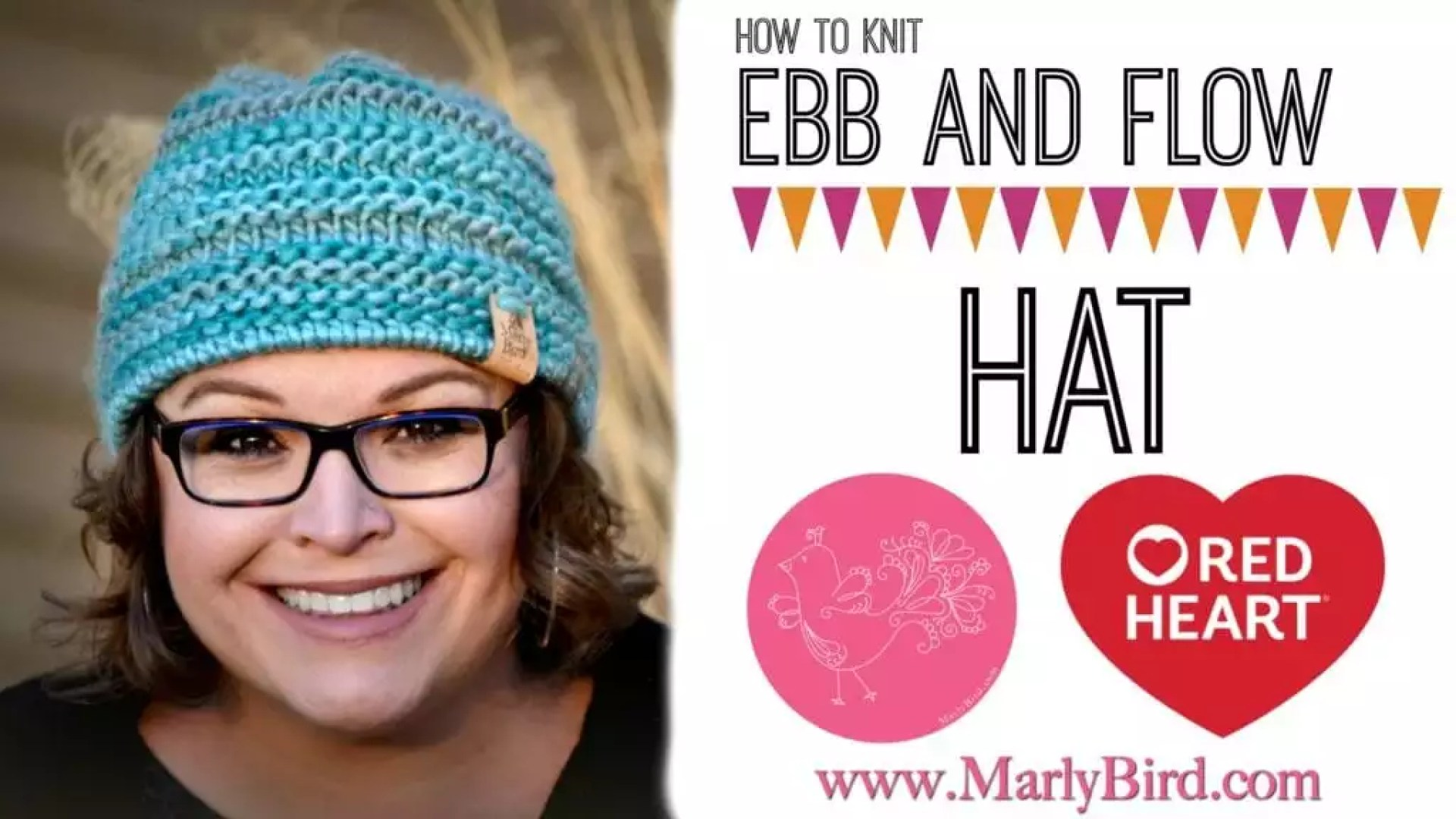 c740fb8ce Ebb and Flow Chunky Knit Hat Pattern and Video Tutorial by Marly Bird