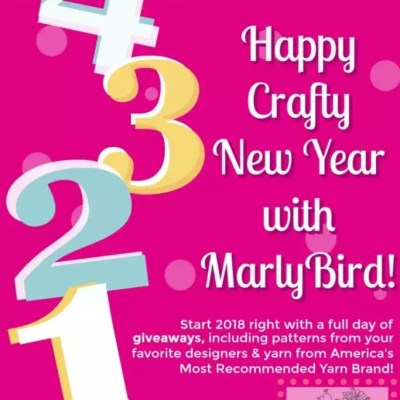 Count down the New Year with Knit and Crochet Giveaways and Marly Bird