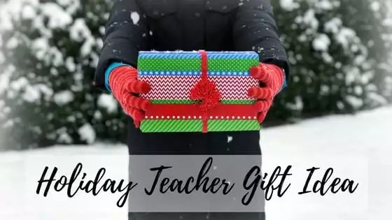 FREE Knit Cowl Pattern Holiday Teacher Gift Idea - Marly Bird™