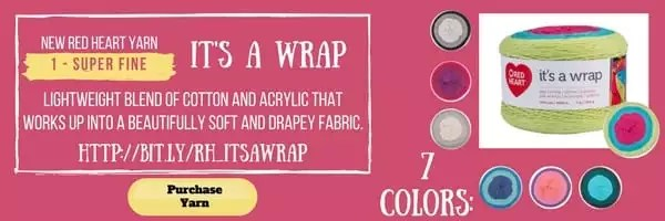 It's a Wrap by Red Heart