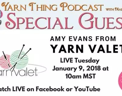 Yarn Thing Podcast with Marly Bird and The Yarn Valet