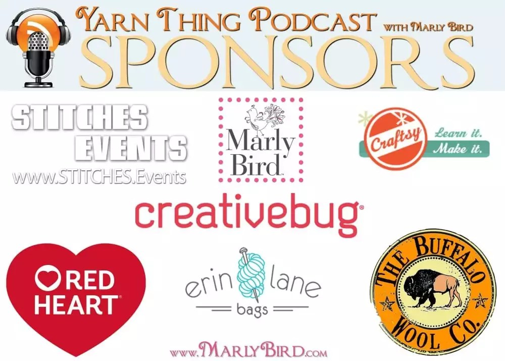 Yarn Thing Podcast with Marly Bird Sponsors_2018