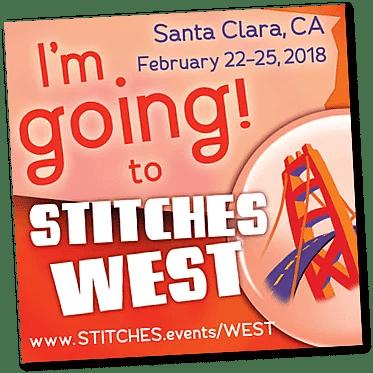 Stitches West Santa Clara CA Feb 22-25 2018