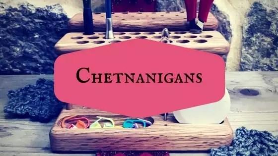 Chetnanigans-Home of The Original Crochet Hook Organizer / Workstation