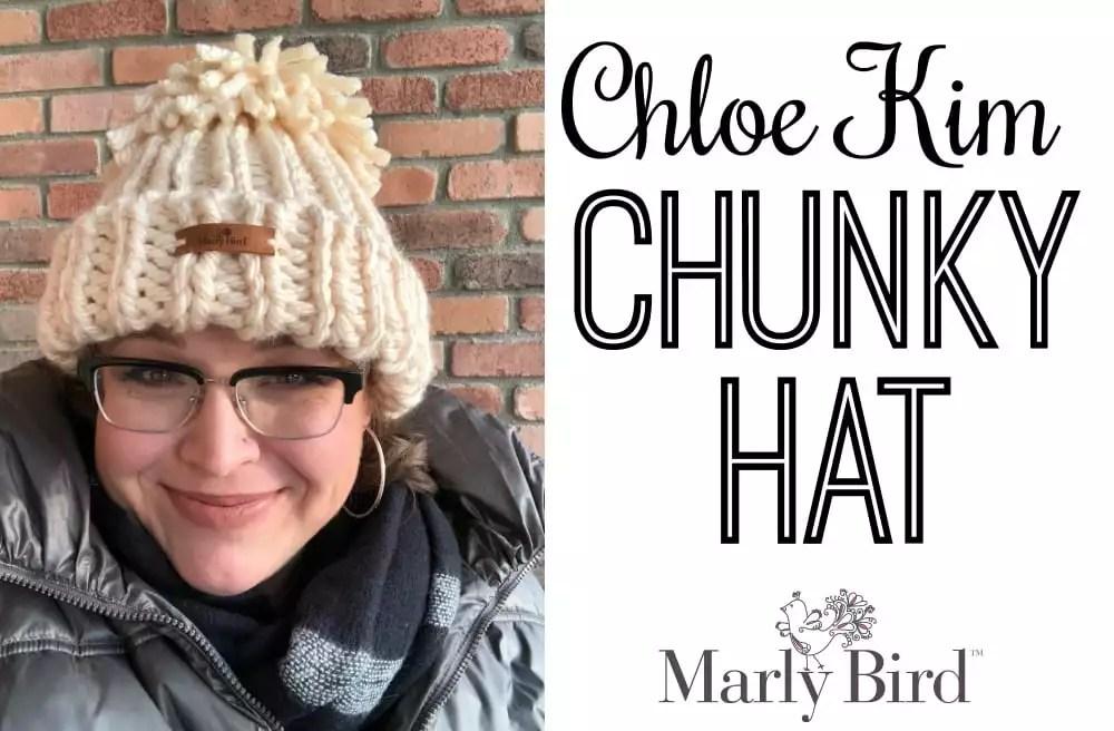 FREE Knit Pattern: Chloe Kim Chunky Hat