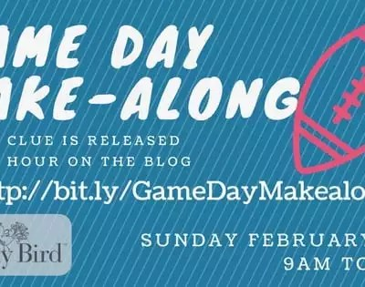 2018 Game Day Make-Along
