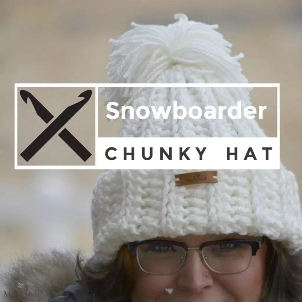 Snowboarder Crochet Chunky Hat Marly Bird