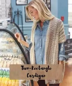FREE pattern Two Rectangle Cardigan