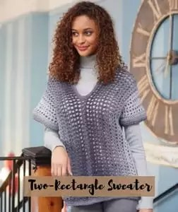 FREE Pattern Two-Rectangle Sweater