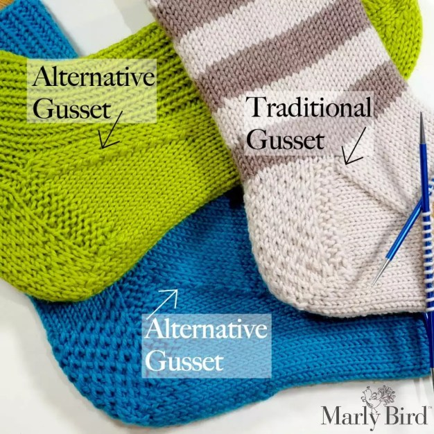 Hygge Stripe Socks with Chic Sheep by Marly Bird