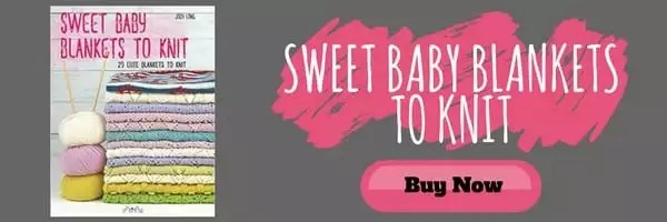 Purchase your copy of Sweet Baby Blankets to Knit