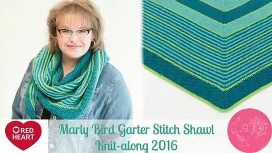 Garter Stitch Shawl KAL