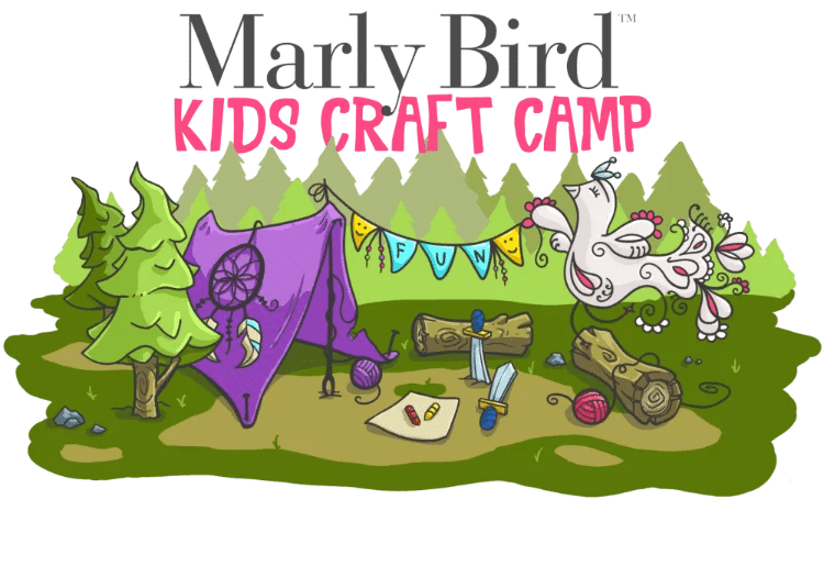 Marly Bird Kids Craft Camp