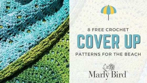 8 FREE Crochet Cover Up Patterns for the Beach