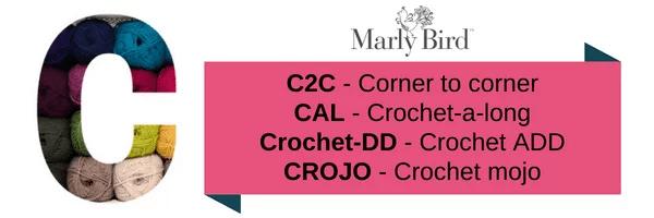 Crochet Slang Terms-C