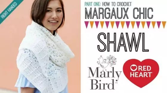 Crochet Video Tutorial-How to Crochet the Margaux Chic Shawl