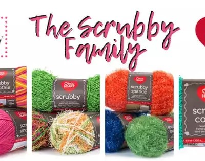 Red Heart Scrubby-The New Cotton Yarn
