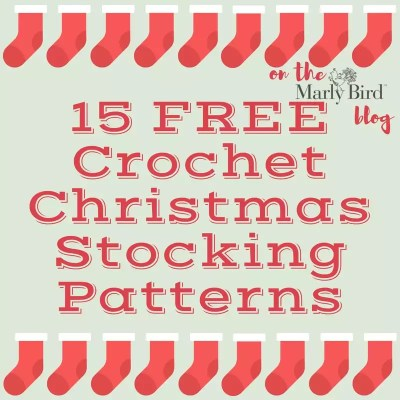 15 FREE Crochet Christmas Stockings Patterns