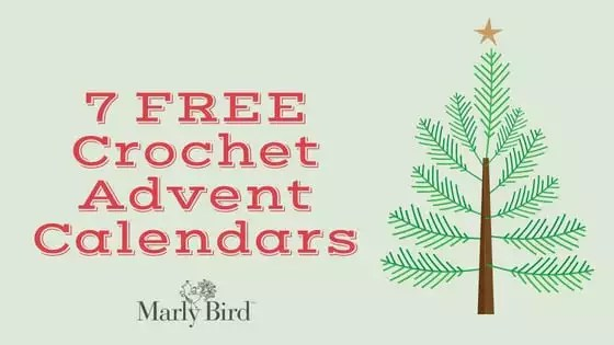 7 FREE Crochet Advent Calendars