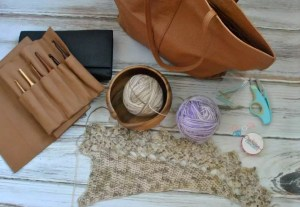 Cre8tion Crochet's Project Bag