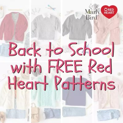 Get Ready for Back to School with FREE Patterns