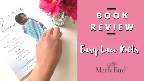 Lace Knitting 101 with the Easy Lace Knits Book Review