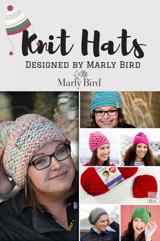 Knit Hats by Marly BIrd