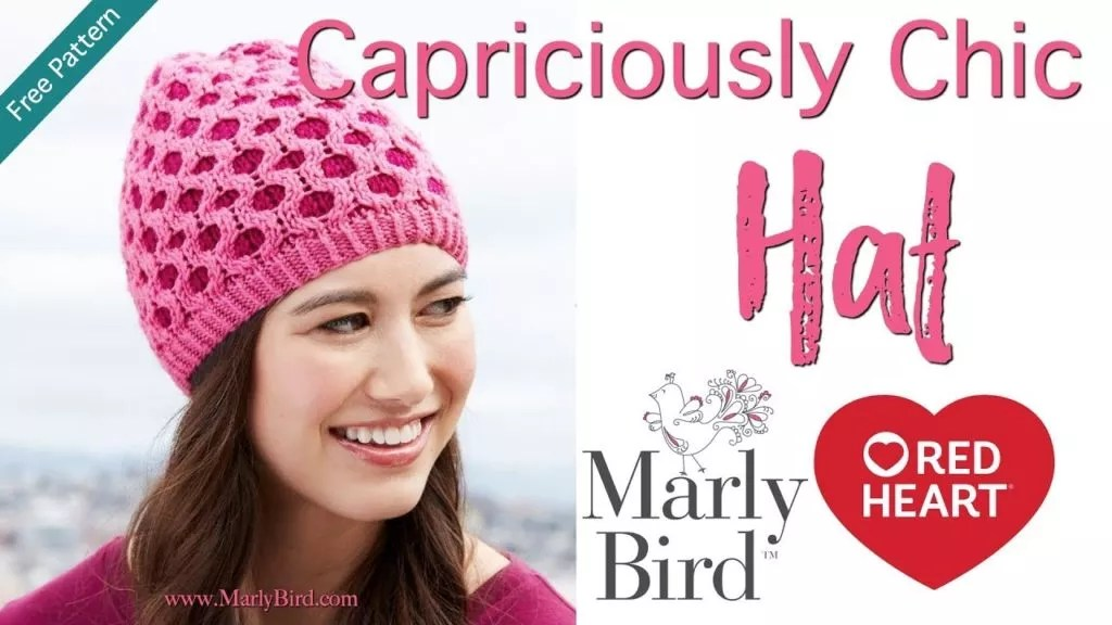 Video Tutorial-How to work the honeycomb cable and fair Isle with the Capriciously Chic Hat