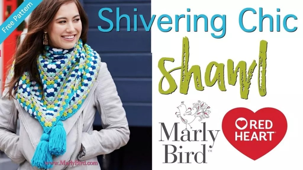 Video Tutorial-How to Crochet the Shivering Chic Crochet Shawl