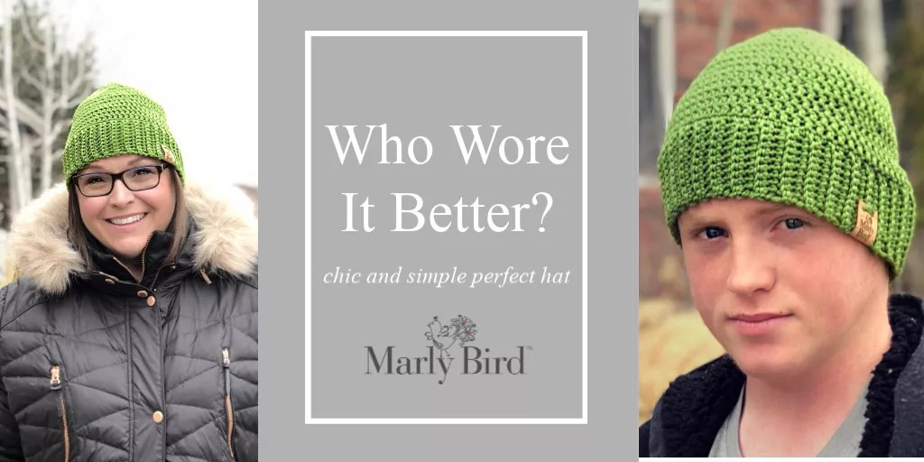 Chic and Simple Perfect Hat FREE Pattern