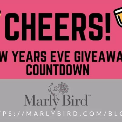 Giveaways in our Countdown to New Years Eve
