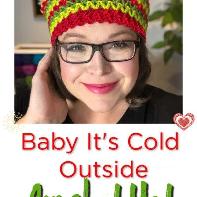 FREE Crochet Hat-Baby It's Cold Outside