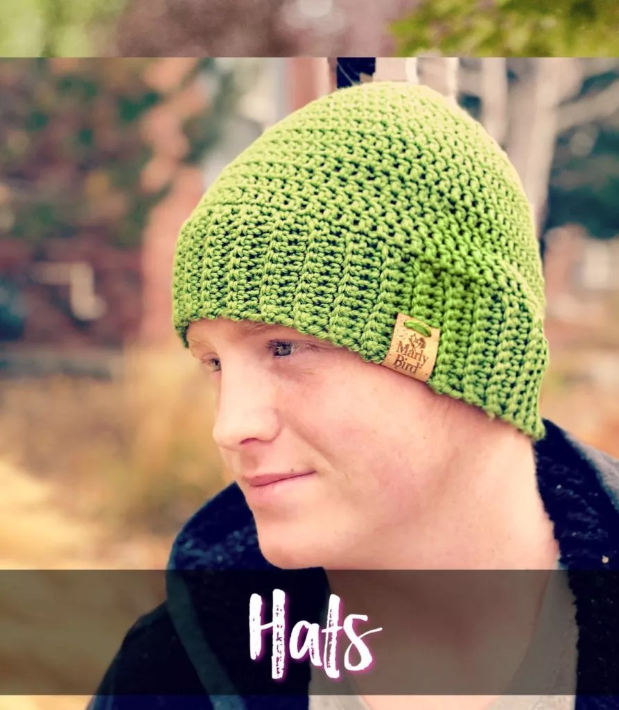Chic and Strong Crochet Hat Pattern: Link to More Free Crochet Patterns