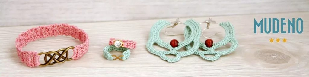 Shop Mudeno Crochet Kits and Jewelry