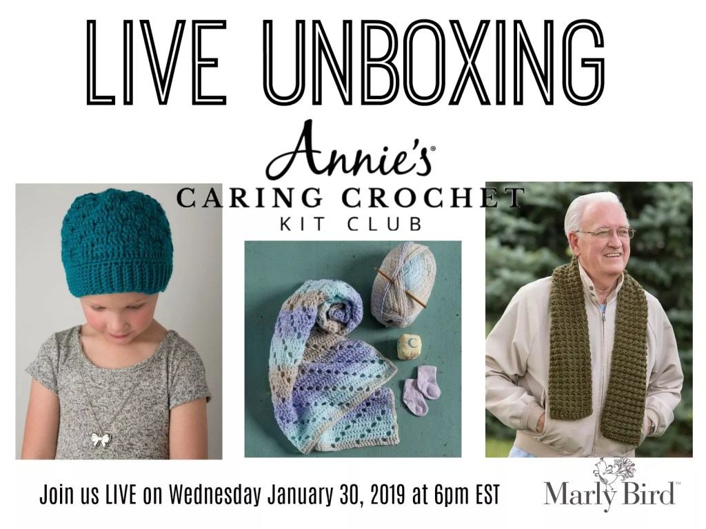Unboxing of Annie's Caring Crochet Kit Club