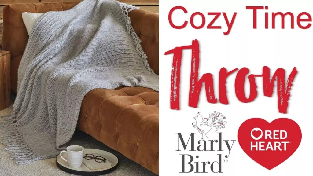 FREE Beginner Throw Pattern and Video Tutorial with Marly Bird