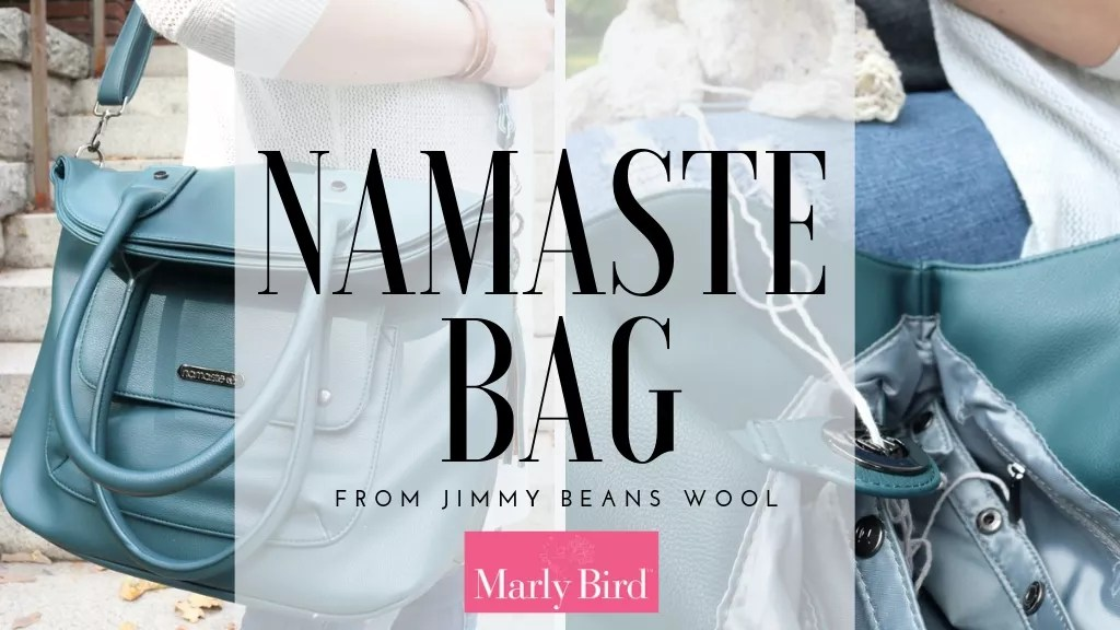 Review of the Namaste Knit and Crochet Bag by Jimmy Beans Wool