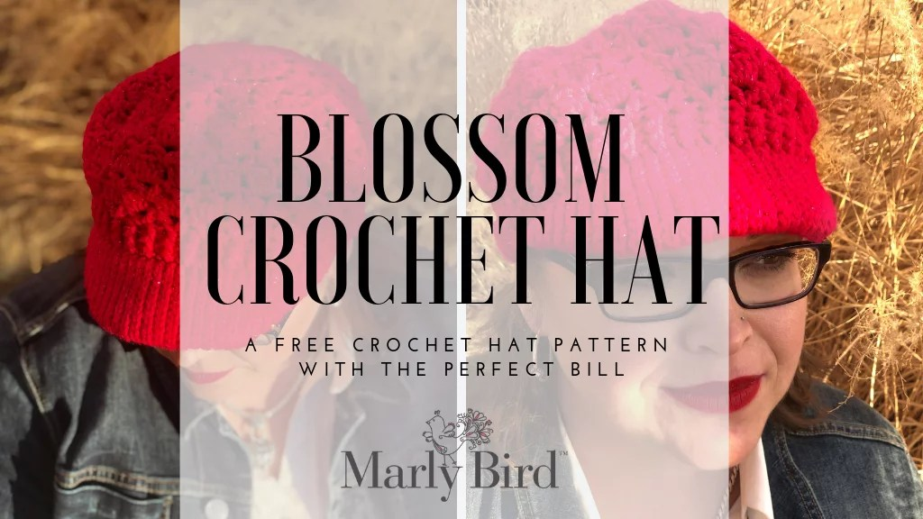 FREE Crochet Hat with a brim-FREE crochet hat pattern