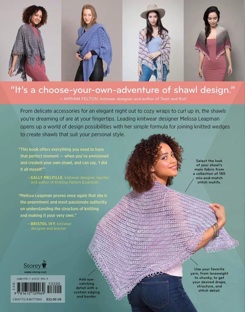 Book Review with Marly Bird of Modular Knitting by Melissa Leapman