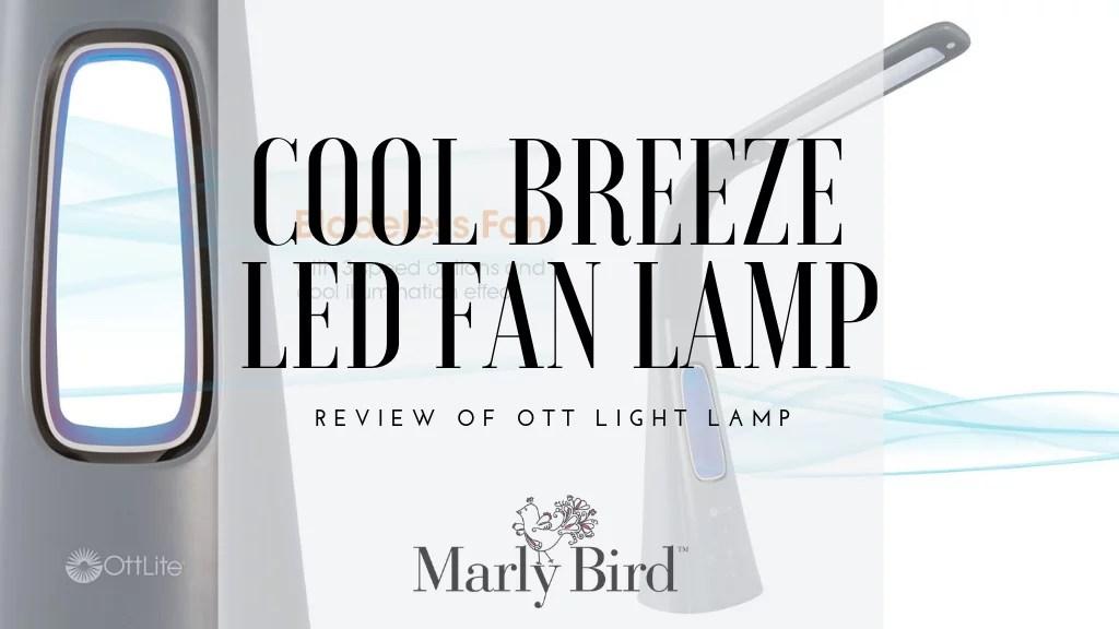 Ott Light Cool Breeze LED Fan Lamp Review