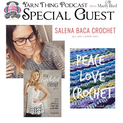 Salena Baca Returns to talk about her new Crochet Book