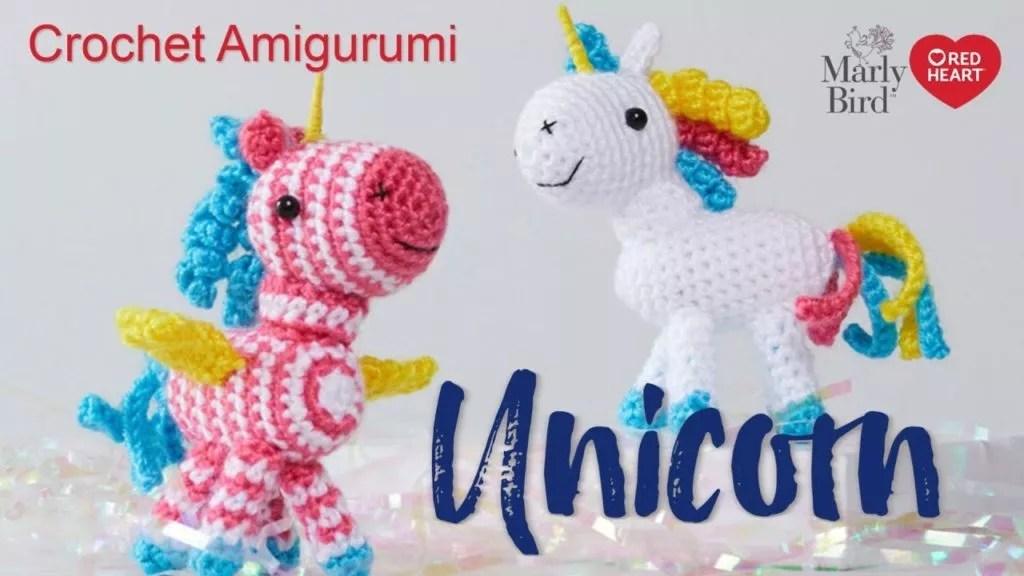 Video Tutorial-How to Crochet an Amigurumi Unicorn