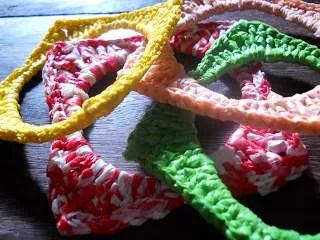 Crochet Plarn Bangles